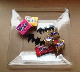 Halloween Plate Bats
