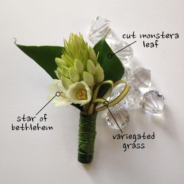 Star of Bethlehem Boutonniere
