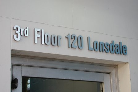 3 dimensional - Foam Letters