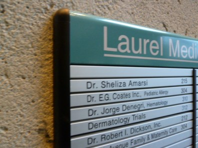architectural - Custom Made Directories