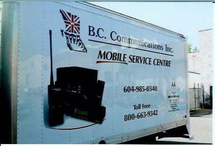 vehicle lettering - Cube Vans