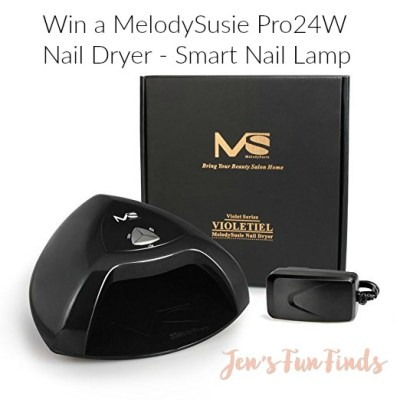 Want Beautiful Nails for Mother's Day? Win a MelodySusie 24W LED Nail Lamp for Professional Nail Art at Home