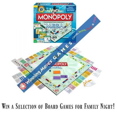 What is your Favorite Board Game? Win a Selection of Fun Board Games from Winning Moves Games