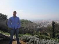 Carmen de los Maritres (beautiful Garden in Granada. We climbed to the top).