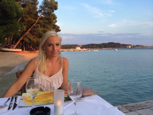 Miloš' view at Il Golfo.