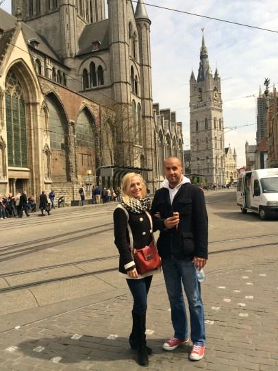 Jen and Miloš in Ghent