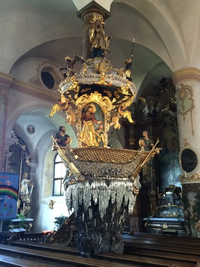 One-of-a-kind pulpit