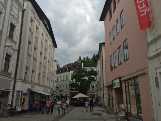 Passau's quaint streets