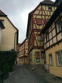 Traditional half-timbered houses