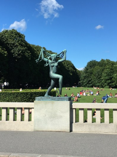 Vigeland Gardens - thought this one was pretty cool