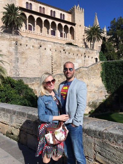 Jen and Miloš - Palma cathedral