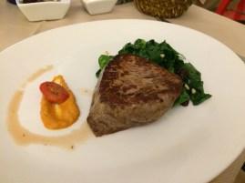 Miloš' steak