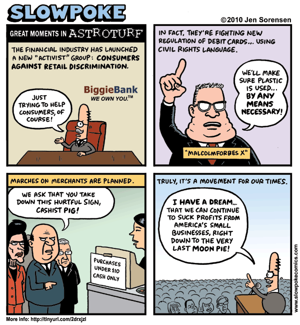 """This Week's Cartoon: """"Great Moments in Astroturf"""""""