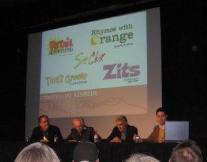 Jay Kennedy panel at 2010 Festival of Cartoon Art
