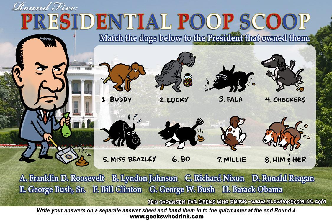 Presidential dogs quiz