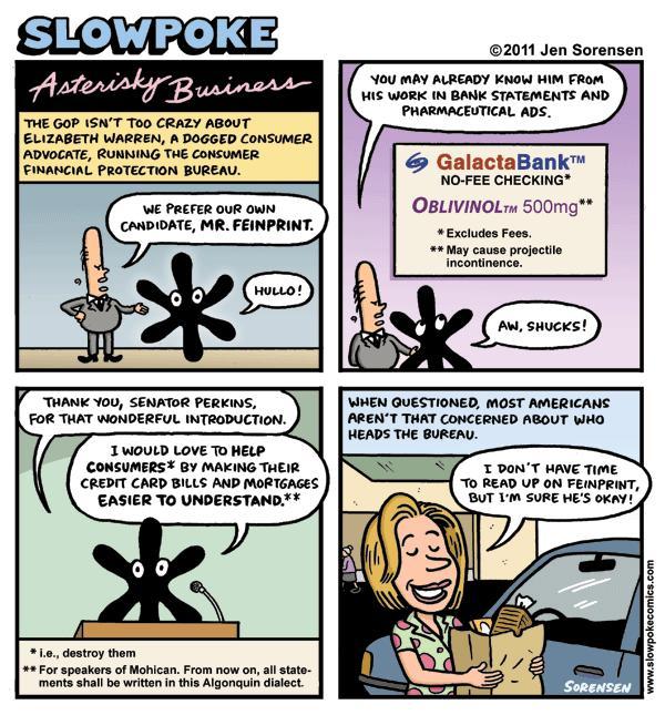 "This Week's Cartoon: ""Asterisky Business"""