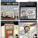 """This Week's Cartoon: """"Welcome to Ball-Mart"""""""