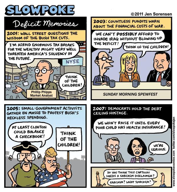 "This Week's Cartoon: ""Deficit Memories"""