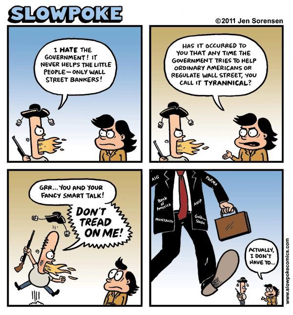 "This Week's Cartoon: ""Don't Tread On Me"""