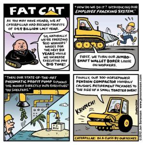 "This Week's Cartoon: ""Fat Cat"""