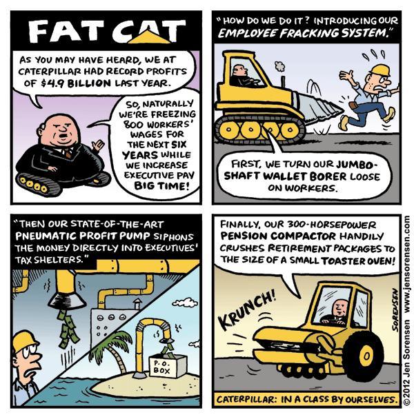 "This Week's Cartoon: ""Fat Cat"""