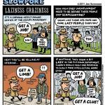 "This Week's Cartoon: ""Laziness Craziness"""
