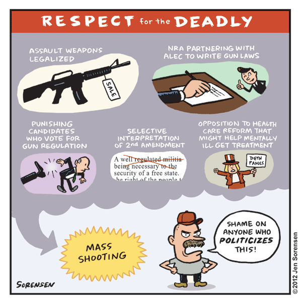 Respect for the Deadly