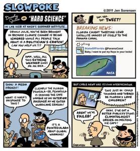 """This Week's Cartoon: """"Drooly Julie in 'Hard Science'"""""""
