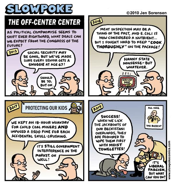 "This Week's Cartoon: ""The Off-Center Center"""
