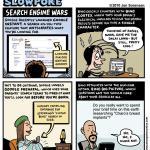 "This Week's Cartoon: ""Search Engine Wars"""