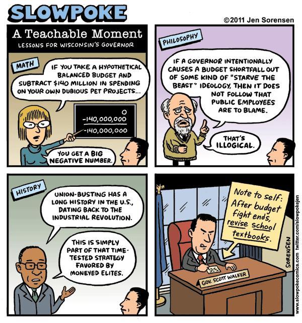 "This Week's Cartoon: ""Winter Hat Semiotics"""