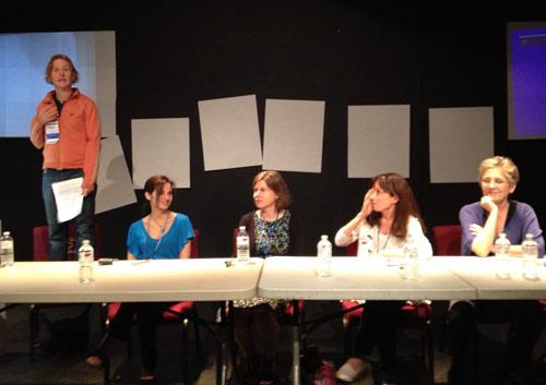 Women in Cartooning panel at NCS Reubens Weekend 2013