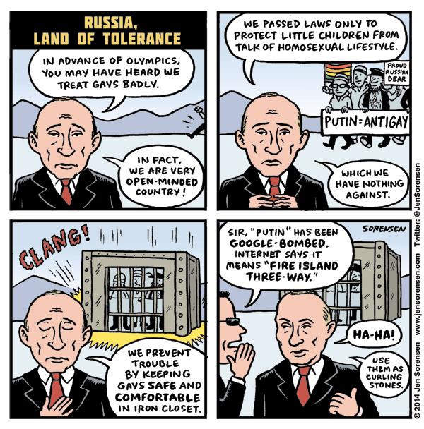 Russia, Land of Tolerance