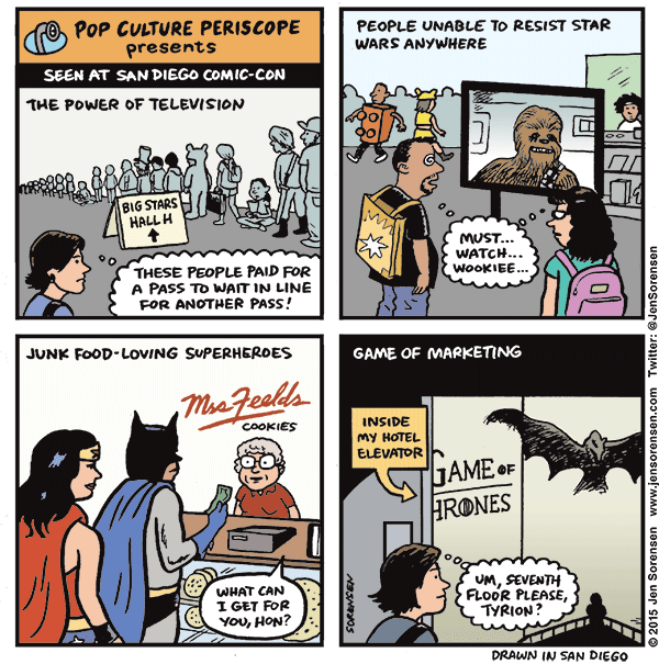 Pop Culture Periscope: San Diego Comic-Con Edition