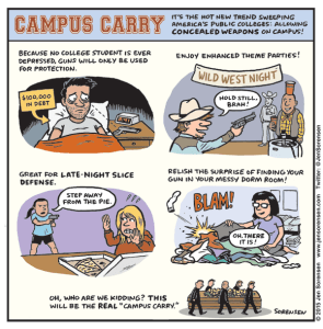 "The Joys of ""Campus Carry"""