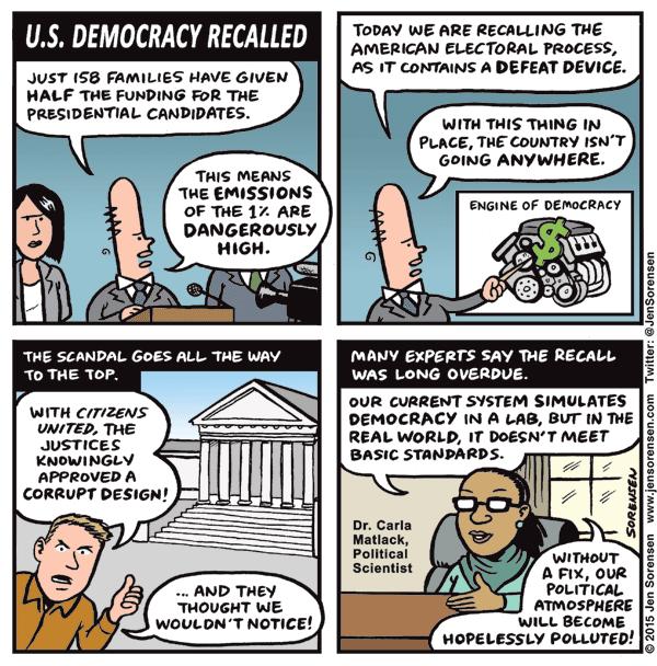 U.S. Democracy Recalled