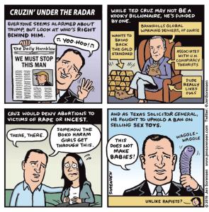 Cruzin' under the radar
