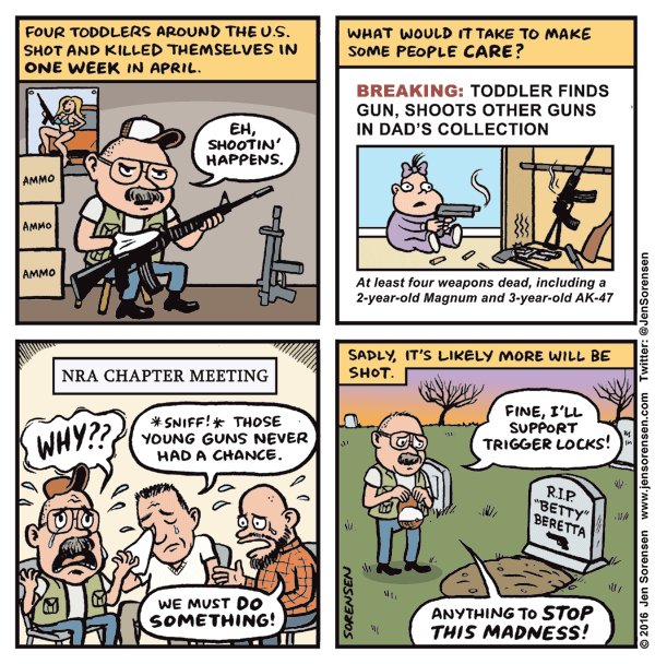 Baby-on-gun violence