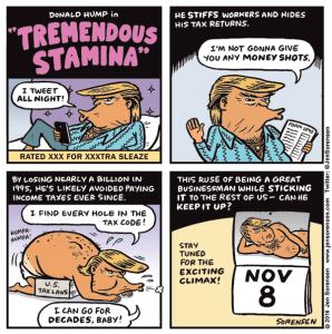 Trump's Tremendous Stamina
