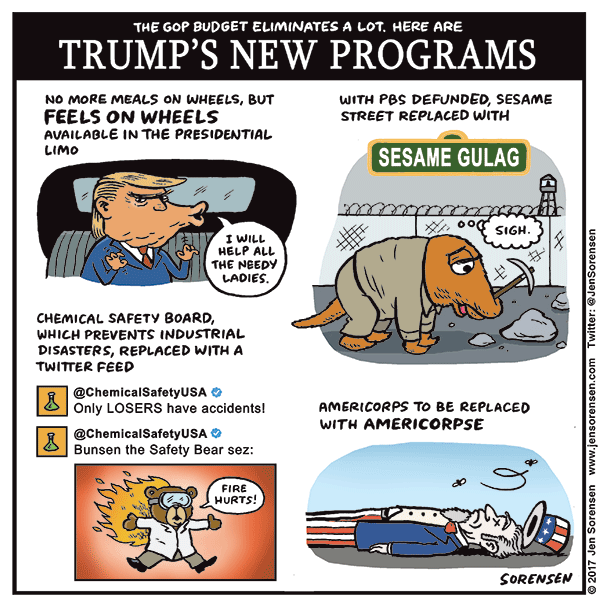 Trump's new programs