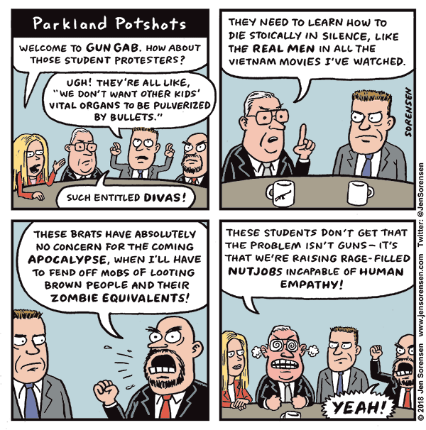 Cartoon: Parkland Potshots