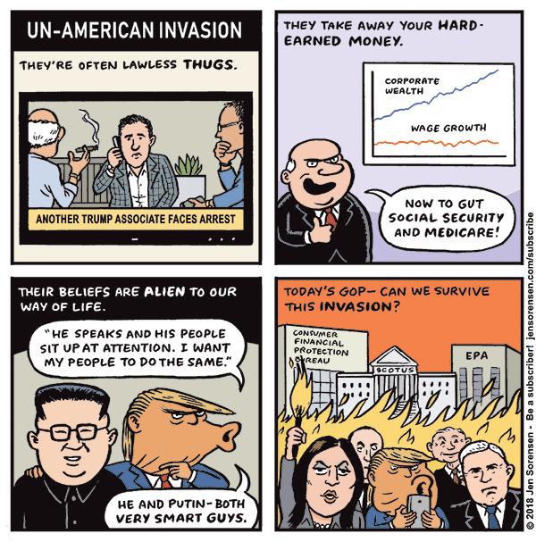 Un-American Invasion