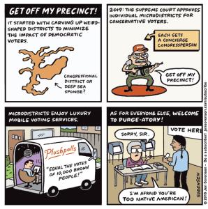 Get Off My Precinct!