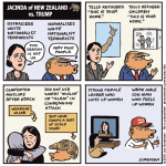 Jacinda of New Zealand vs. Trump