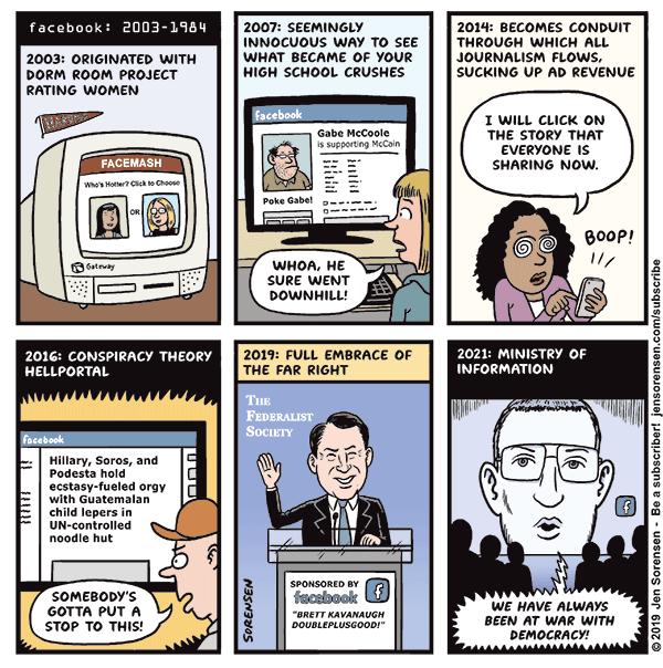 A Brief History of Facebook