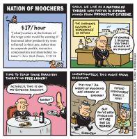Classic Cartoon: Nation of Moochers