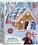 Crafty Cooking Kits Disney Frozen II Olaf's Holiday Ice Hut Gingerbread Cookie Kit - Contents Net Wt. 17.68 oz  byBRAND CASTLE