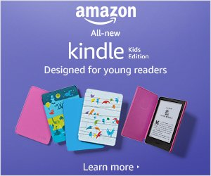 All-new Kindle Kids Edition - Includes access to thousands of books - Blue Cover  byAmazon