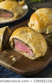 Blue Cheese, Spinach Wellingtons