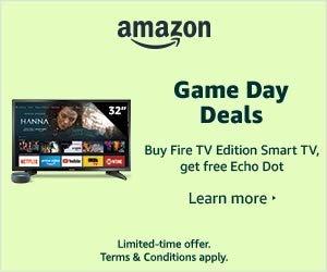 Buy Fire TV Edition Smart TV, Get Free Echo Dot